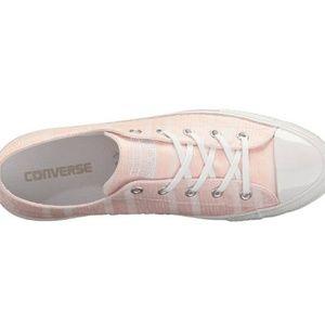 018cb971b7d0 Converse Shoes - Light pink striped Converse